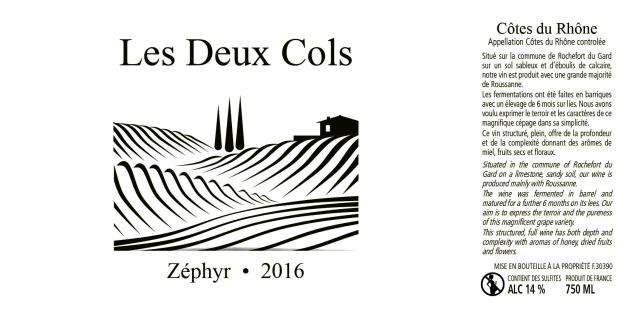 Etiquettes Millesime 2016-Zephyr